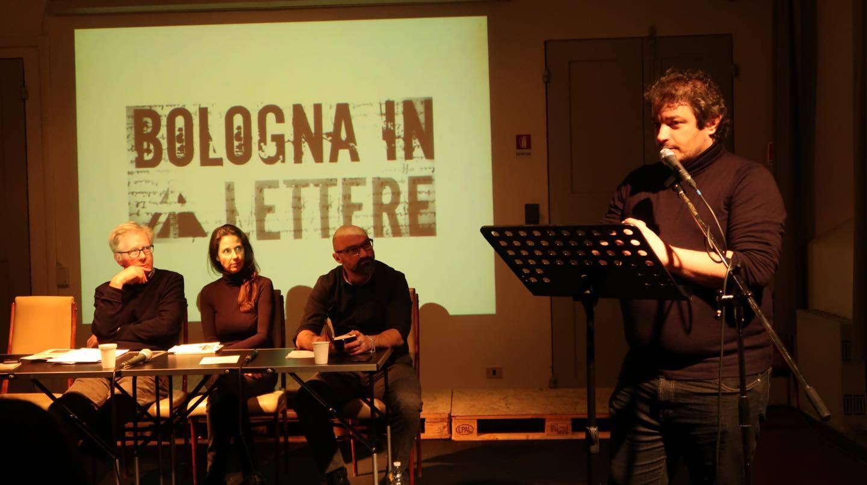 Alessandro Canzian a Bologna in Lettere