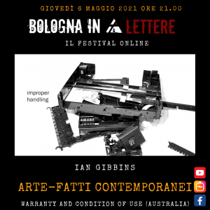 ARTE-FATTI CONTEMPORANEI Ian Gibbins, Warranty and Condition of Use (USA)