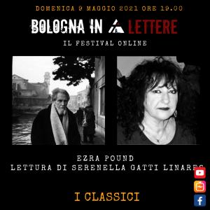 Ezra Pound, lettura di Serenella Gatti Linares