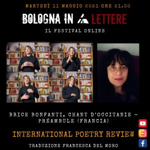 Brice Bonfanti, Chant d'Occitanie – Préambule (Francia)