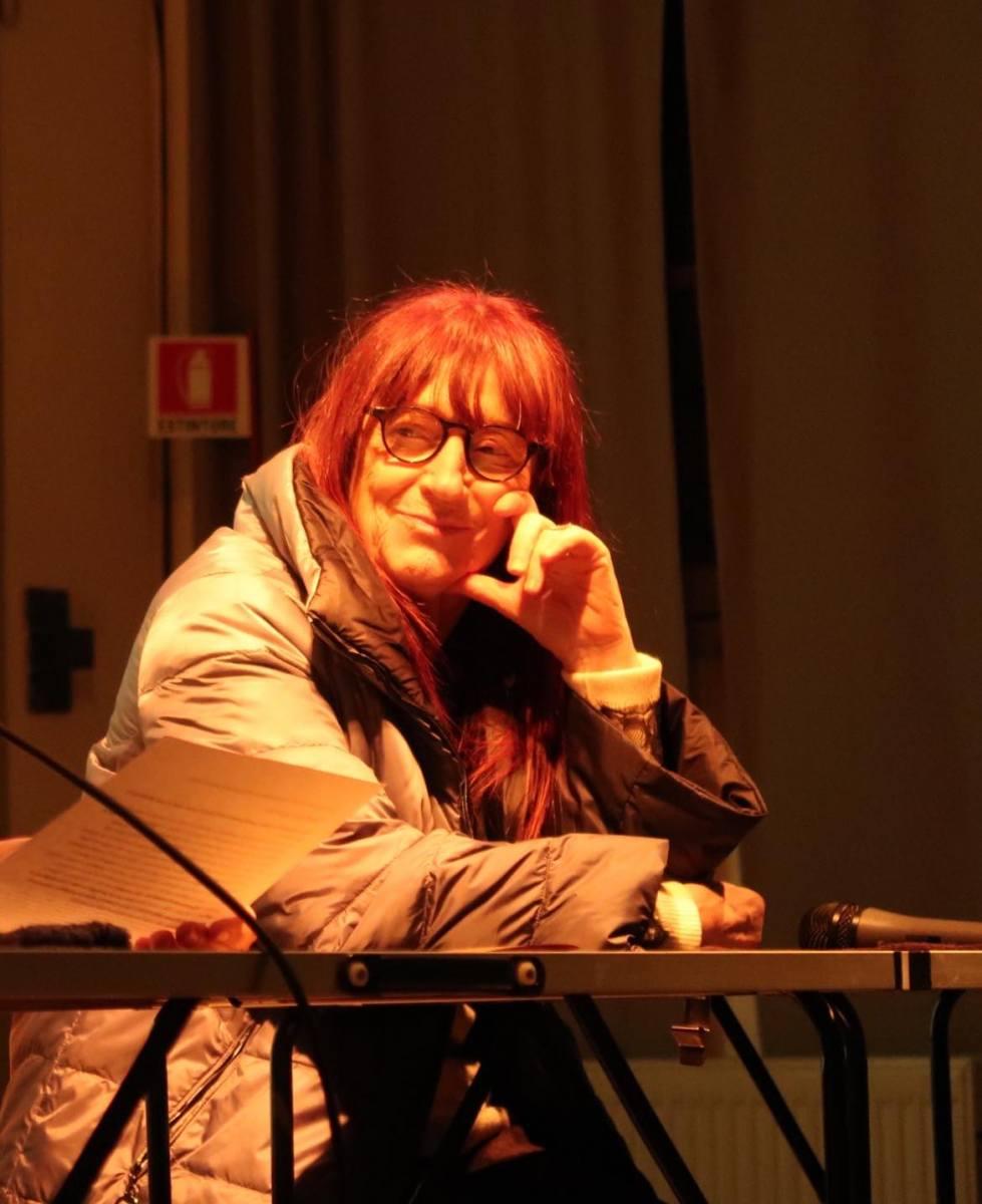 Daniela Rossi a Bologna in Lettere
