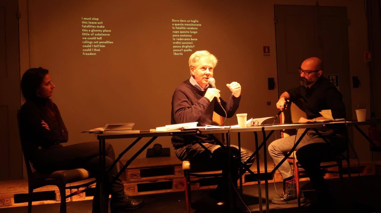 Patrick Williamson a Bologna in Lettere